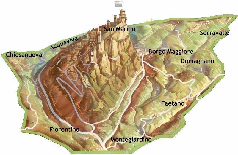 Download - San marino map download