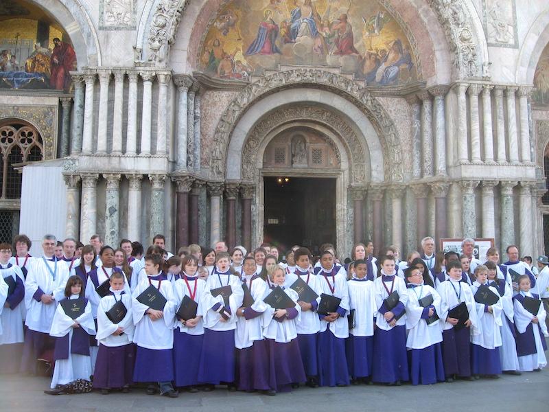 Venice choral tour